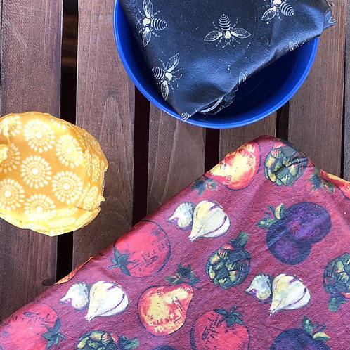Beeswax Wrap - Small (8x8) - 2 pack