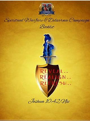 Spiritual Warfare & Deliverance Booklet