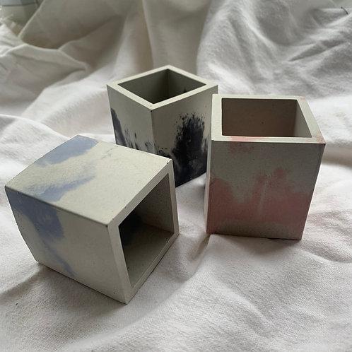 Mini square votive  by Narvi design