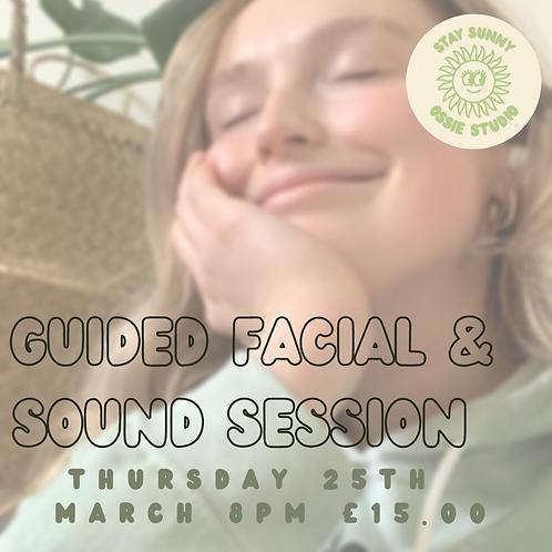 Facial Massage & Sound Bath Session (25th March 2021)