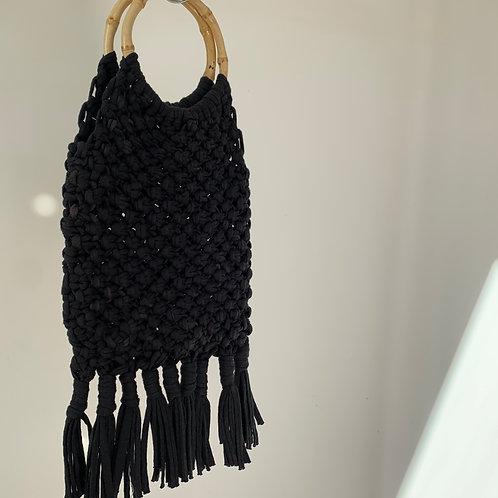 Macrame Bag : Black