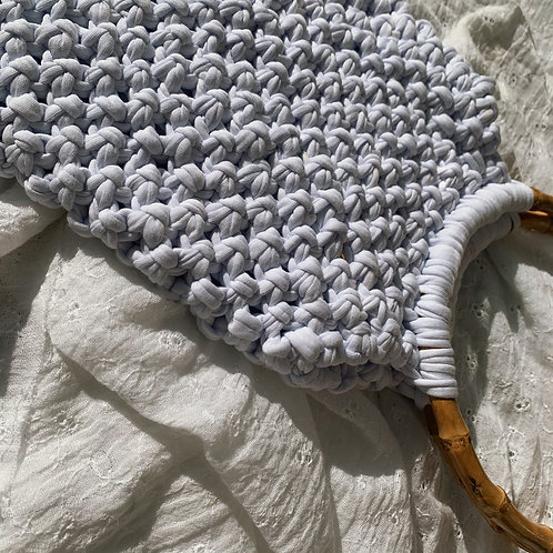Macrame Bag : White