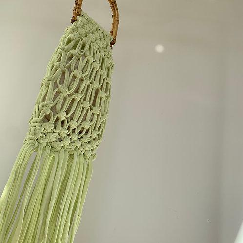 Macrame bag : Green