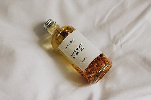 PRE-ORDER Marigold  body oil by NARLOA