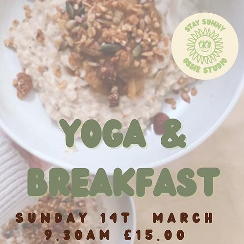 Yoga & Breakfast (14th March 2021)