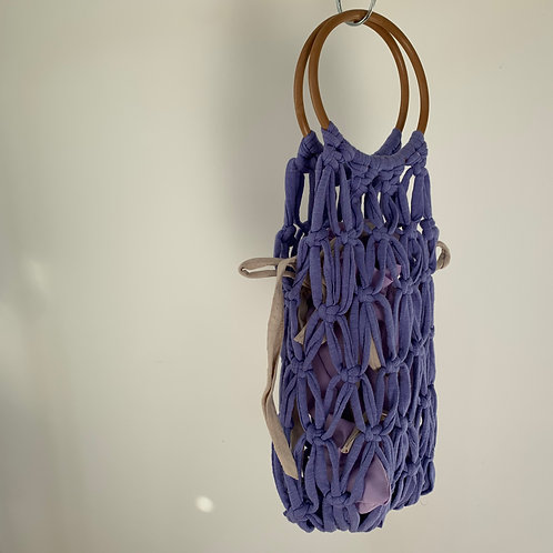 Macrame Bag : Lilac