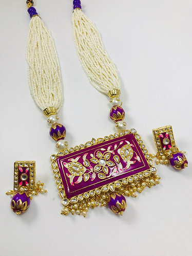 Meena Kari Necklace Set