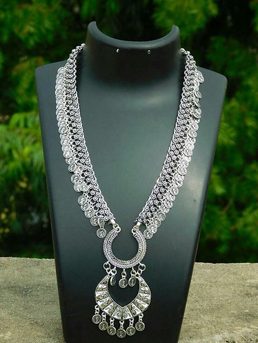 Only silver necklace