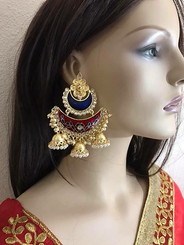 Very high quality Chand Bali earring