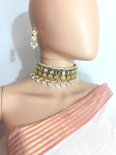 Choker necklace set with free shipping