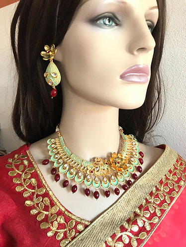 Bollywood gorgeous necklace set for party wear