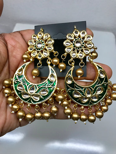 Kundan earring high quality