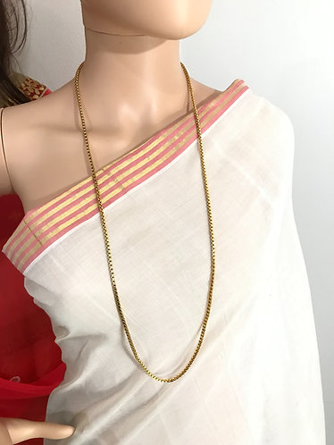 34 inch Gold Plated Long Chain