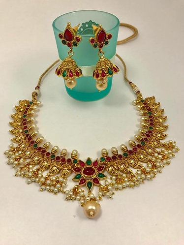 Very high quality exotic gold plated jewelry for party