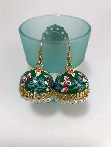 Meena Art work earrings