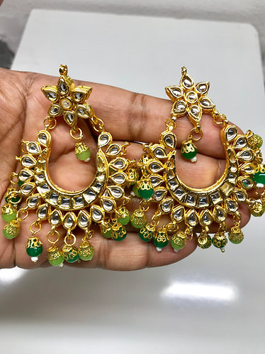 Kundan earring high quality