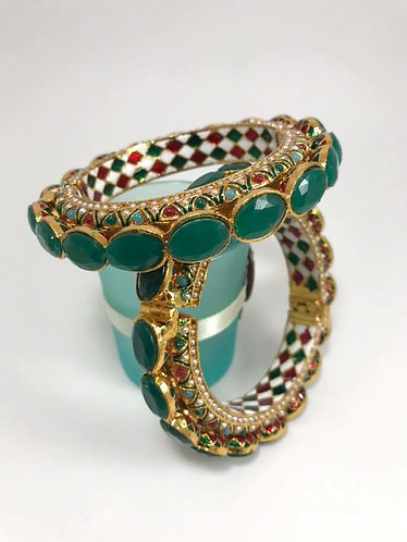Multicolor high quality Bollywood bangles