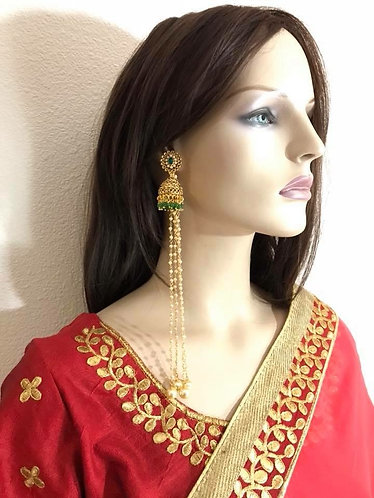 Kashmiri earring long