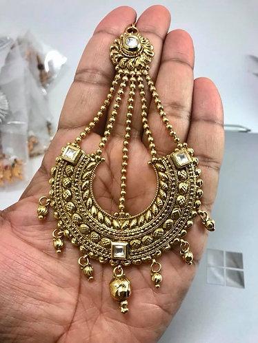 Gold plated pasa/Jhumur