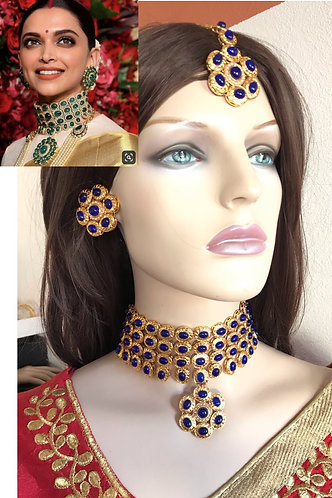 Bollywood gorgeous necklace set for party wear as you seen Actress