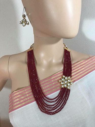 High Quality Kundan Necklace Set