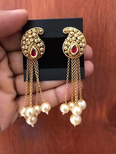 Bollywood earring