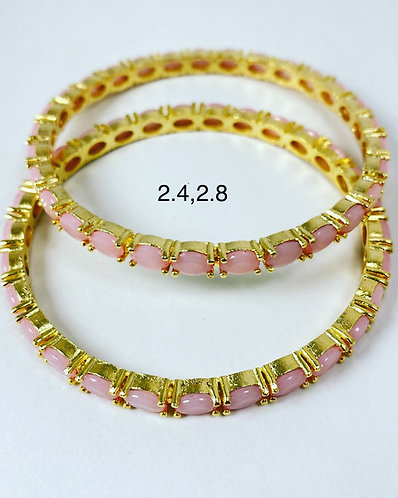 Gold plated bangles! High quality