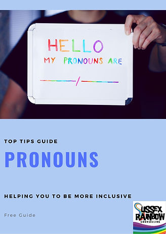 cover page - Pronouns - Top Tips Free Gu