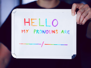 Pronouns in the Counselling Room