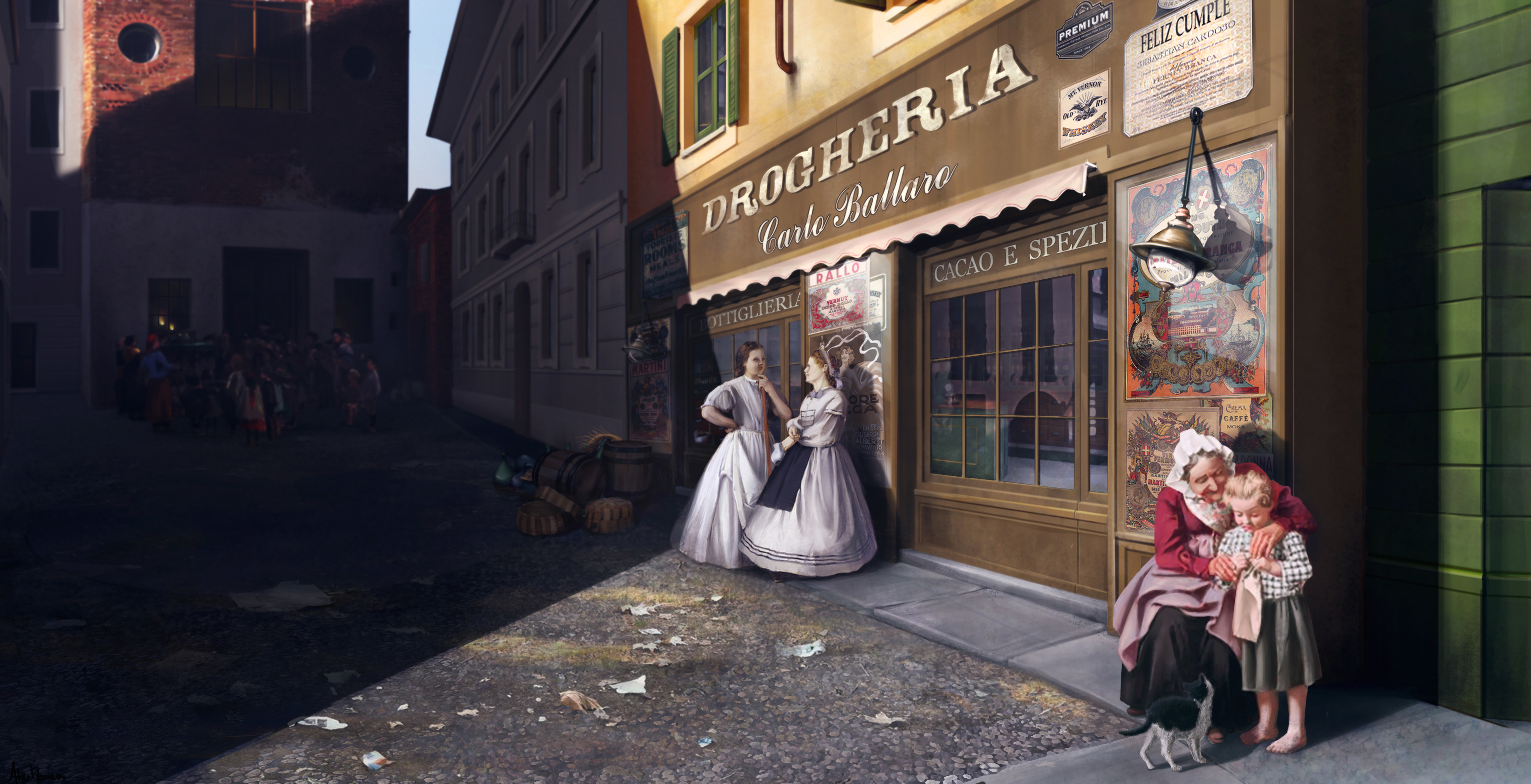 San Carpoforo, Milano