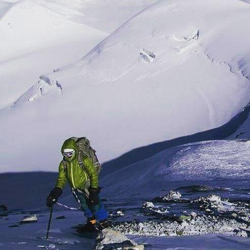 Maria Granberg, Mountaineer