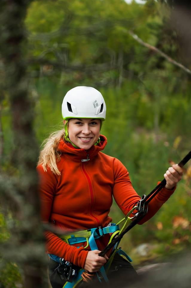 Maria Granberg, Mountain Climber