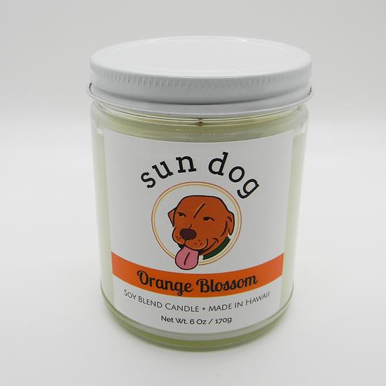 Orange Blossom Jar Candle