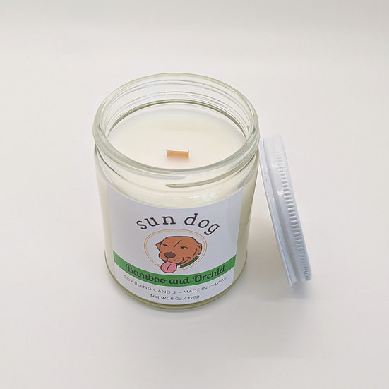 Bamboo and Orchid Jar Candle