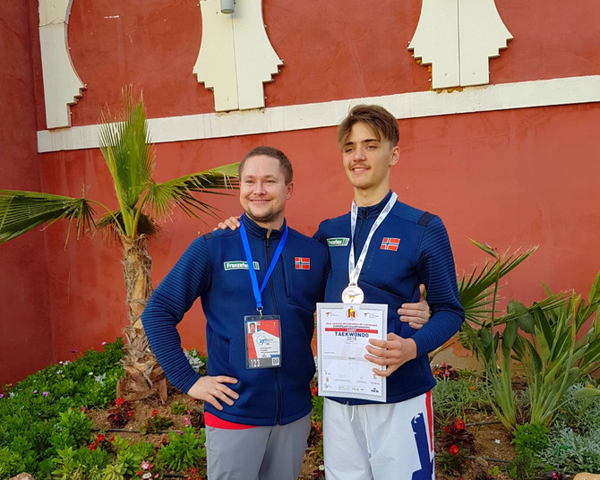 EM sølv i Taekwondo til Tom Talgø i Spania