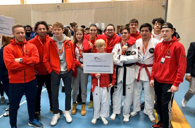Tre Norgesmestere og æresprisen Årets Sportånd til utøver fra Øvre Romerike Budosenter