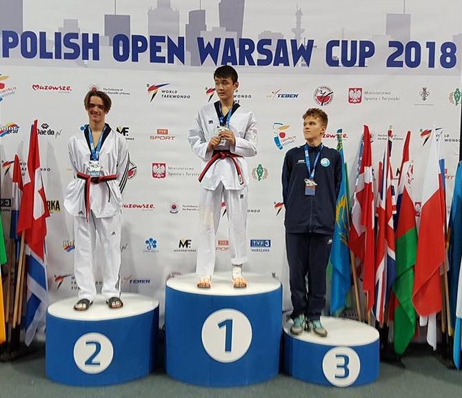 Tom Talgø fra Øvre Romerike Budo Senter vant sølv i Polish Open
