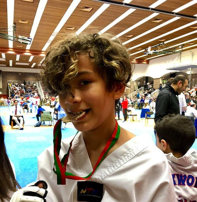 Gull og totalt fire medaljer i Brussel Taekwondo  Tournament 2018