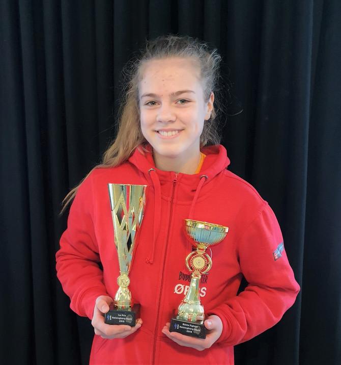 Beste kvinnlige Figther, tre gull og tre sølv til ØRBS i Helsingborg Open