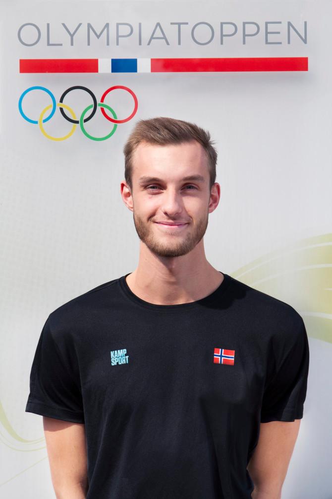 Landslagsutøver og OL kandidat Ricard Andrè Ordemann skal trene talenter