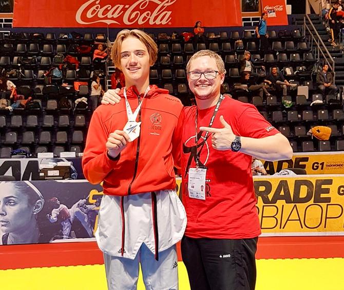 Tom Talgø erkvalifisert til KadettEM i Taekwondo som eneste fra Norge