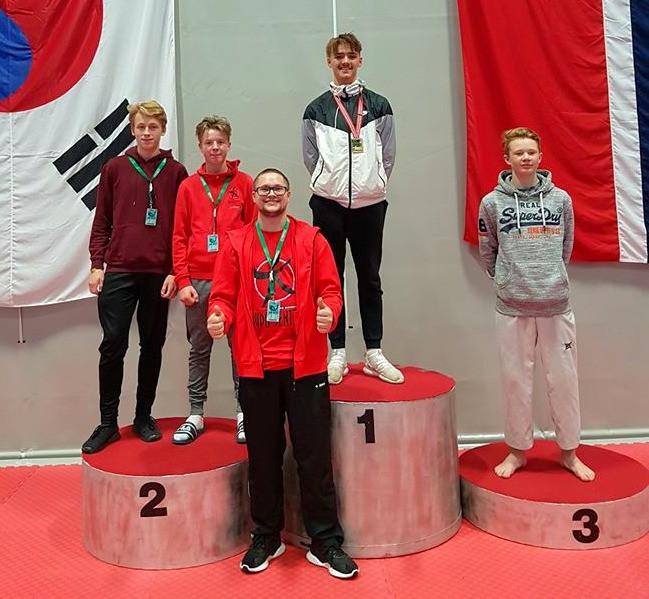 Norgesmester, to sølv og en bronsje til Øvre Romerike Budosenter