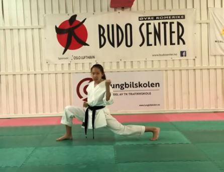 Sølv og bronsje til ØRBS i E-Stevne Karate Kata 2020