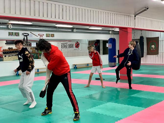 Møter verdens beste taekwondoutøvere