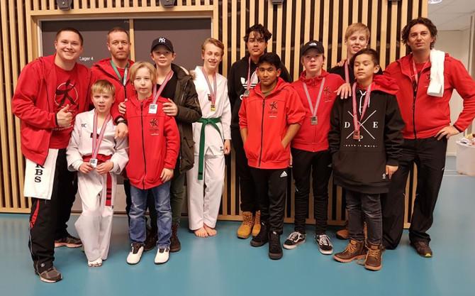 To gull, seks sølv og to bronse til Øvre Romerike Budosenter i NorgesCup - ØstlandsCup