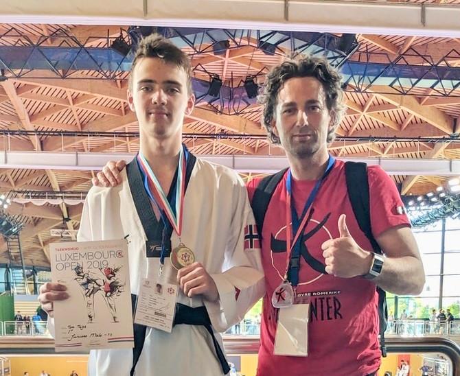Tom Talgø fra ØRBS er nå kvalifisert til EM i Taekwondo