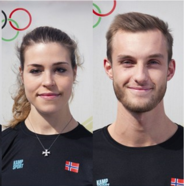 Tina og Richard skal representere Norge i Senior-EM i Taekwondo