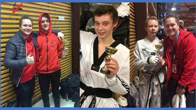 Et sølv og to bronse til utøvere fra Øvre Romerike Budosenter i Nordisk mesterskap i Taekwondo