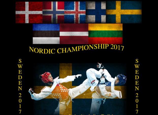 Fire medaljer til ØRBS i Nordisk Taekwondo