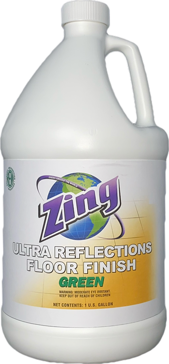 Zing ULTRA REFLECTIONS Green Floor Finish